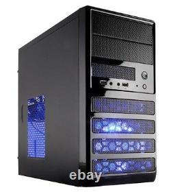 AMD Custom Ryzen 5 Quad Core Gaming PC 3.9GHZ Computer 480GB SSD 8GB RAM Vega 11