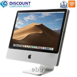 Apple iMac 21.5 Desktop Computer AiO Core 2 Duo 4GB Ram 1TB Wifi DVD MC413LL/A