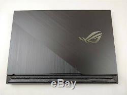 Asus ROG Strix G G731GU i7-9750H 2.60GHz 16GB RAM 512GB SSD 17.3 FHD GTX1660Ti