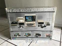 Atari 800 home computer system 48K Ram With Original Box UNTESTED