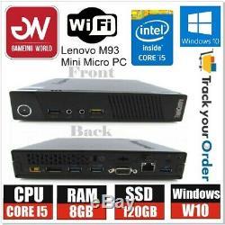 BARGIN OFFER Lenovo Mini Micro PC i5 4th Gen 8GB RAM 120GB SSD Computer PC