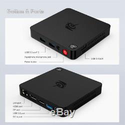Beelink T4 Mini PC 4GB RAM 64GB eMMC Windows 10 Computer Intel Atom x5-Z8500 CPU