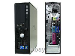 Cheap Dell Desktop Sff Pc Office Computer Bundle Windows 10,4gb Ram, 250gb Hdd