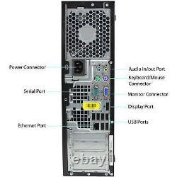 Cheap PC Desktop Windows 10 Pro Computer Core 2 Duo Tower 4GB RAM 160GB VGA Wifi