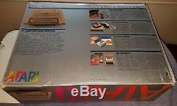 Clean Atari 400 Computer 48K Ram withB Keyboard Upgrade Matching Serial Number Box