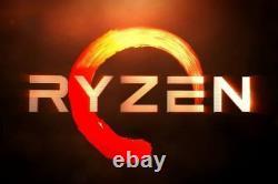 Custom Built PC AMD Ryzen 8GB RAM Gaming Desktop Computer System Fast PC HDMI