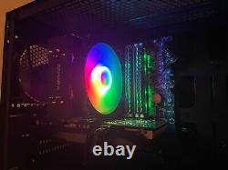 Custom RGB Gaming PC Computer Intel i7 Quad 3.06GHz 12GB Ram 1000GB GTX 760 WIFI