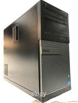 DELL Optiplex 7010 Desktop Computer Intel i7-3770-16GB ram 2TB HDDWin 10 WiFi
