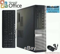 Dell 7010 Desktop Windows 10 PRO Computer 3.4GHz Intel Core i5 Quad 16GB RAM SSD