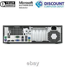 Dell 9010 SFF Desktop Computer Core i5 Windows 10 PC 16GB RAM 256GB SSD WIFI DVD