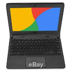 Dell Chromebook 11.6 Laptop Computer Intel Dual Core 4GB RAM 16GB SSD WiFi HDMI