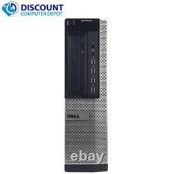 Dell Computer Quad Core i5 Desktop 16GB RAM 2TB HD Windows 10 Pro DVD WiFi HDMI
