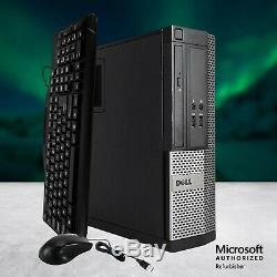 Dell Desktop Computer Intel i5 QUAD CORE Windows 10 Pro PC 16GB RAM 512GB SSD