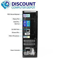 Dell Desktop Computer PC Intel Quad-Core i5 Windows 10 PC WiFi 8GB RAM 1TB HD