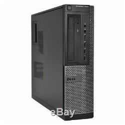 Dell Desktop Computer Quad Core i5 3.20GHz 16GB RAM 2TB HD Windows 10 Pro PC DVD