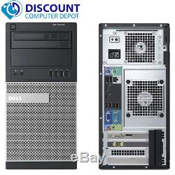 Dell Desktop Computer Quad Core i5 PC 16GB RAM 2TB HD + 120GB SSD Windows 10 Pro