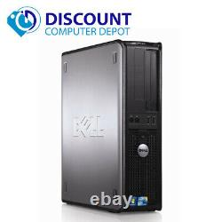 Dell Desktop Computer Windows 10 Pro With Core 2 Duo 4GB RAM 500GB HDD & 17 LCD