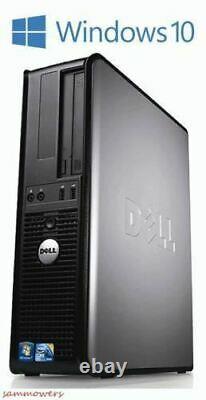 Dell Desktop PC Computer Windows 10 Core 2 Duo 19 Monitor 8GB Ram 1TB Win WiFi
