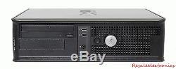 Dell Desktop PC Computer Windows 10 Core 2 Duo 8GB RAM 1TB HD 19 Monitor