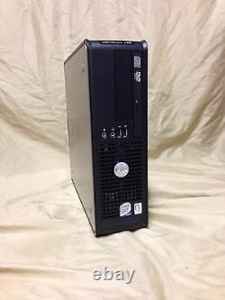 Dell Desktop computer Optiplex 745 / 755 SFF DUO Core 2g RAM 160GB Windows XP
