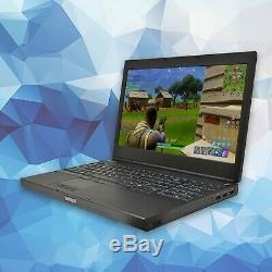 Dell Gaming Laptop Computer Quad Core i7 16GB RAM 128GB SSD+750GB HD Full HD PC