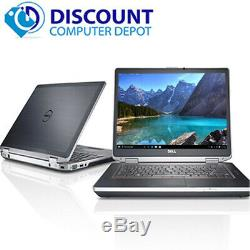 Dell Gaming Laptop Core i5 Computer 2.6GHz 8GB RAM 240GB SSD Windows 10 Pro DVD