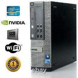 Dell Gaming PC I7, NVIDIA GTX 1650, SSD + 1TB, 16GB RAM, WIN10, Computer SFF