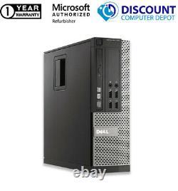Dell Home Desktop Computer Core i3-4130 8GB RAM 256GB SSD Windows 10 PC DVD WIFI