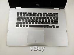 Dell Inspiron 15-7569 i7-6500U 12GB RAM 512GB SSD FHD Backlit Touch BAD BATT