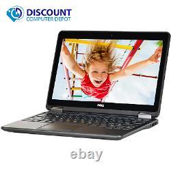 Dell Laptop Computer E7240 12.5 Core i5 8GB Ram 128GB SSD Webcam Windows 10 Pro