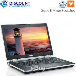 Dell Laptop Latitude Windows 10 Core i3 4GB RAM 320GB HD DVD Wifi PC Computer