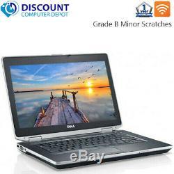Dell Laptop Latitude Windows 10 Core i5 8GB RAM 500GB HD DVD Wifi PC Computer