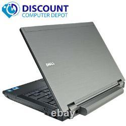 Dell Latitude Laptop E5410 Computer Core i5 Windows 10 8GB Ram 500GB HD DVD Wifi