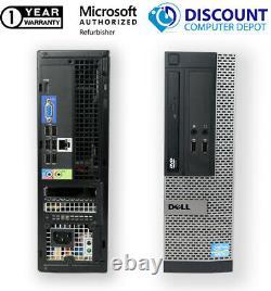 Dell OptiPlex 3020 SFF Core i3 Desktop Computer 8GB RAM 500GB HDD Windows 10 PC
