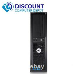 Dell Optiplex Desktop Computer Windows 10 Core 2 Duo 4GB Ram DVD WiFi 17 LCD