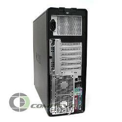 Dell Precision 490 2x Intel 5345 Quad Core NVS290 8GB RAM 1TB Desktop Computer
