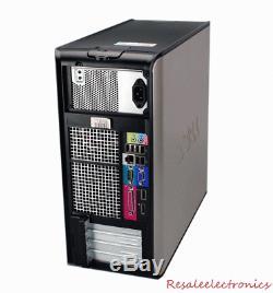 Dell Windows 7 Desktop Computer 1TB HDD 8GB RAM Wifi 3.0GHz Processor