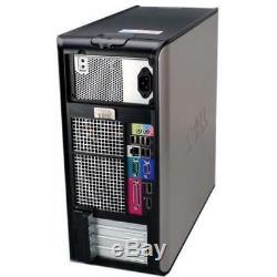 Dell Windows 7 Pro Desktop Computer 1TB HDD 8GB RAM Wifi 3.0GHz Processor