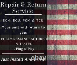 Dodge ECM ECU PCM Engine Computer Repair & Return Service Dodge ECM R&R Service