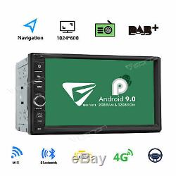 Double Din 7 Android 9.0 2GB RAM Car Stereo Radio GPS 4G WIFI OBD2 Multimedia