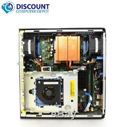 FAST Dell Windows 10 Desktop Computer Core 2 Duo 4GB Ram DVD WiFi 19 LCD