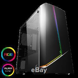 FAST Desktop Computer Gaming PC Intel Quad Core 1TB 8GB RAM GT 710 Windows 10