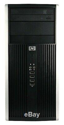 FAST HP Elite Desktop Computer Intel 3.00GHz 4GB RAM 500GB HD Windows 10 WiFi