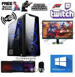 FAST Intel Core i5 Gaming PC Computer 8GB RAM 1TB HDD Windows 10 GT 710 2GB