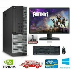FAST Intel Core i5 Gaming PC Computer 8GB RAM 1TB Win10 GT 710 WiFi