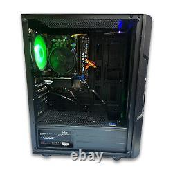 FAST Intel Quad Core i5 Gaming PC Computer 1TB HDD 8GB RAM Windows 10 GT 710 2GB