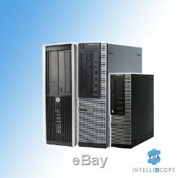 Fast Cheap Dell or HP i5 Desktop SFF 32GB RAM HDD And SSD Windows 10 PC Computer