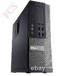 Fast Cheap Quad Core i5 Desktop SFF 32GB RAM HDD And SSD Windows 10 PC Computer