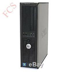 Fast Dell Dual Screen Pc Computer Desktop Tower Windows 10 8gb Ram 1000gb Hdd