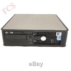 Fast Dell Quad Core Pc Computer Desktop Tower Windows 10 Wifi 8gb Ram 500gb Hdd